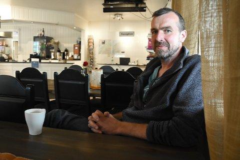 HAR PÅGANGSMOT: Bjørn Erik Nerheim er ikke redd for å satse. For et halvår siden overtok han og kona Bøen Camping og Kafé. Nå overtar de også driften av Flugonfjell skianlegg.