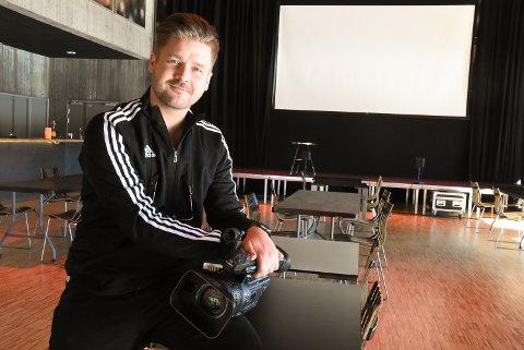 LÆRER I NYTT STUDIE: Eirik Sauarlia fra plateselskapet Grammofon (bildet) og Vegard Finnekåsa fra Konsertservice blir to av lærerne på det nye USN-studiet.