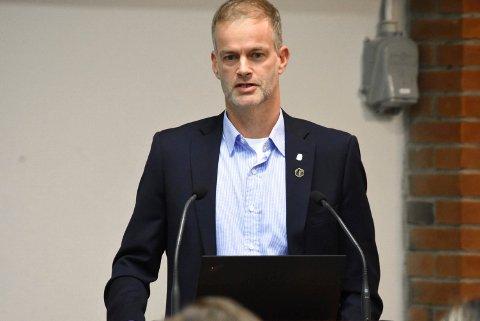 Beredskapsleder  Per Sturla Wærnes.