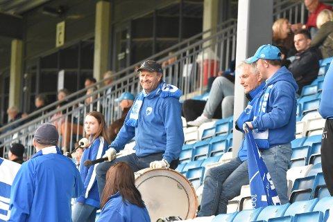 GODT BETALT: Supportersjef Karl Arne Lia mener 25 i odds er godt betalt på Notodden.