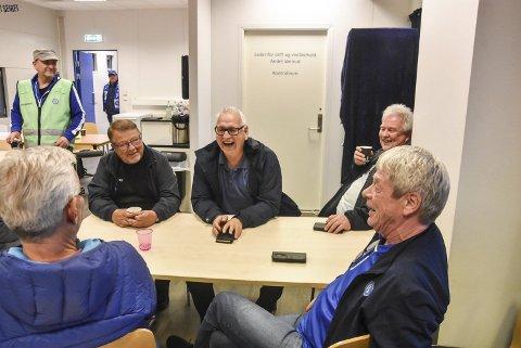 GIVERE: Jan Erik Pedersen (t.v.), Jonny Pettersen, Torgeir Bakken og Ingar Kjosvold er blant de som har støttet klubben i forkant av Folkets kamp.