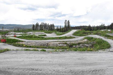 NM: Her i Notodden motorsportsenter i Leivstein skal det kjøres NM i september.