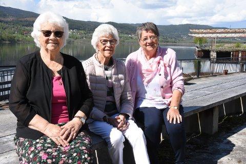 ARRANGERER: Kari Grindalen, Anne Blendum og Else Solberg Aasen i Heddal pensjonistforening inviterer til konsert etter et år som har vært fattig på arrangementer.