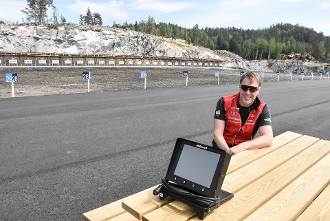 RENN: Skiskytteranlegget på Grønkjær vil få besøk av rundt 250 deltakere når Østlandsmesterskapet skal arrangeres i slutten av august. Rennleder Håkon Engstu sier dette blir en skikkelig test.