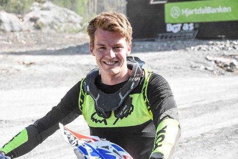 EM-SØLV: Christopher Tveråen har to EM-sølv i ATV. Nå skal han kjøre for NMK Notodden, og forhåpentligvis bidra til at flere har lyst til å begynne med ATV på Notodden.