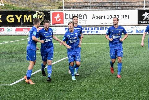 KAMP: Notodden Fotball møter Vard Haugesund i ettermiddag, og vil med seier klatre opp i toppen av tabellen.