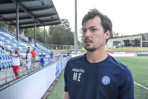 GREIT: Magnus Erga syntes det var greit med ett poeng mot Sotra.