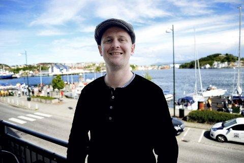 Tenker: Krister Romundtad Hopen har studert filosofi, men droppet mastergraden for å brygge øl i hjembyen Kristiansund.