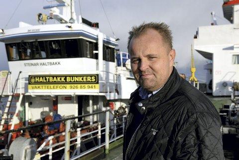 Gunnar Gran overtok eierskapet i Haltbakk Bunkers 1. mars 2015.