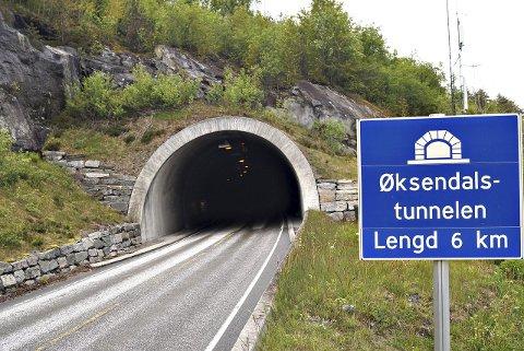 Øksendalstunnelen i Sunndal.
