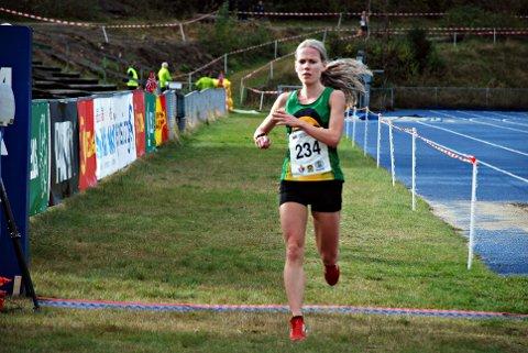 Hanne Mjøen Maridal ble nummer fire i NM terrengløp.