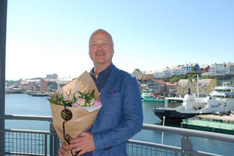 Påtroppende havnefogd Knut Mostad.