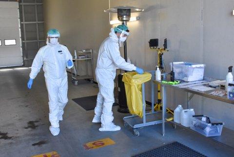 Kristiansund kommune anbefaler alle som har vært på reise i områder hvor det er utbrudd med mutert virus om å teste seg.