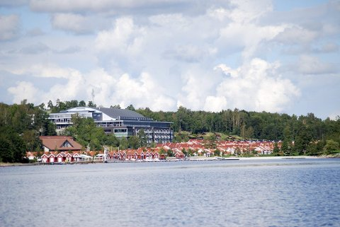BOKSESTEVNE: Oslofjord Convention Center i Stokke skal ifølge NTB være aktuelt for et boksestevne med blant annet Cecilia Brækhus.