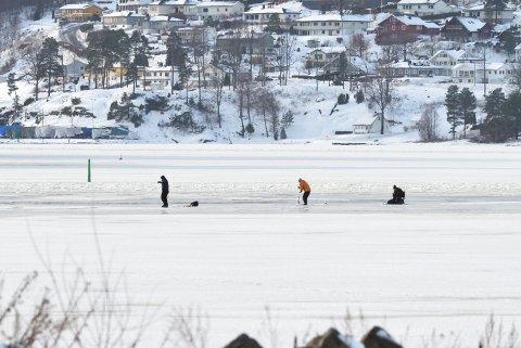 BYBJORDEN: Slik ser det ofte ut vinterstid i Tønsberg
