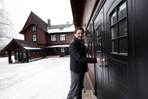 MANGE INTERESSENTER: Fredrik Smedaas Johnson i Buskerud Næringsmegling melder om stor interesse for  Smithestrømveien 5.