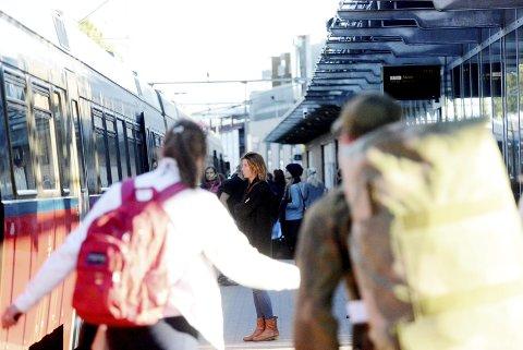 I BYEN: Jernbanestasjonen skal ligge i sentrum, men hvor er det? Foto: Anne Charlotte Schjøll