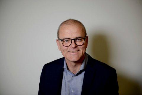 PÅ TOPP: Jon Sanness Andersen vil bli ordfører i Færder kommune.