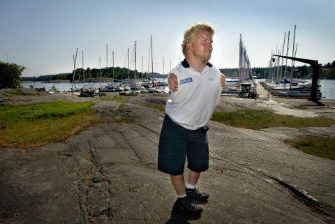 KLAR:Bjørnar Erikstad er klar for en ny utgave av Færderseilasen.