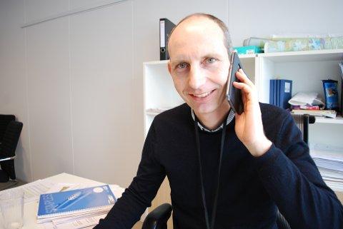 MELDINGER: Andreas Mæland i Færder kommune kan bekrefte at det er kommet inn meldinger om løshunder.