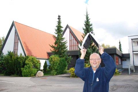 VAFFELGENERAL: Stein Unneberg i Solvangkirken har forfattet denne artikkelen.