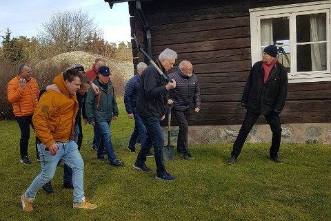 Videopptak av Så Lunkar vi så småningom, under ledelse av Magnus Aagesen