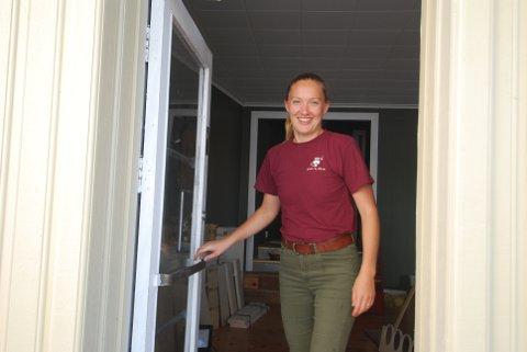 KLAR FOR ÅPNING: Jorun Cooper Bühler åpner «Bare vare» den 24. august.