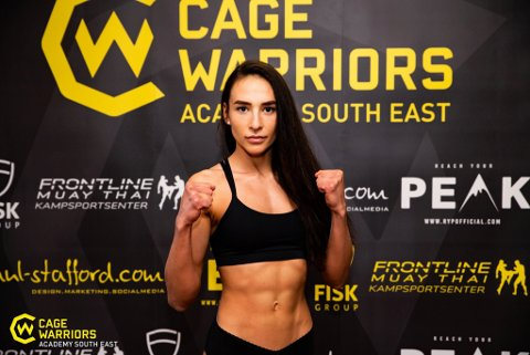 STORT TALENT: Ivana Siric er et navn som befinner seg på mange lepper i MMA-miljøet for tiden. Nylig tok den Tønsberg-bosatte 25-åringen sitt andre tittelbelte og jobber målrettet mot UFC-drømmen.