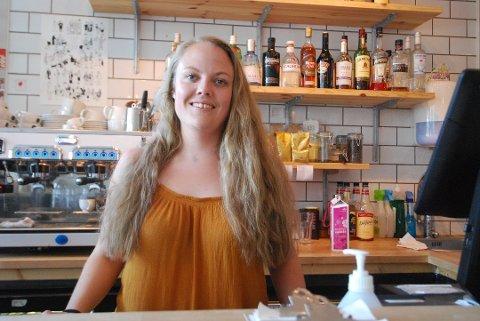 MÅTTE GI SEG: Ina Bjerkan så til slutt ingen annen mulighet enn å begjære oppbud for Uro Kafé og Bar.