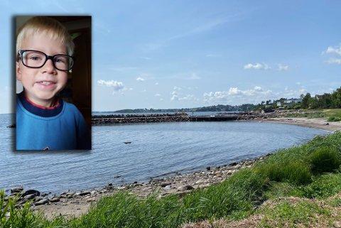 FUNNET: Mikkel lurte på om noen har sett brillene hans, som han mistet på Karlsvika i helgen. Nå er de funnet.
