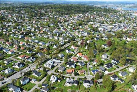 SHOPPINGGLADE: Innbyggerne i Færder er åpenbart glad i å handle på nett. Der har andelen økt med over 80 prosent.