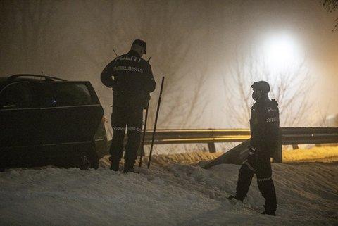 RAN: Fire personer er pågrepet etter knivran i Sandefjord mandag kveld.