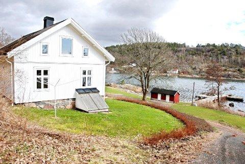 Her er det duket for ferieidyll etter hvert. De siste årene har bygningene på Håøya ikke blitt brukt.