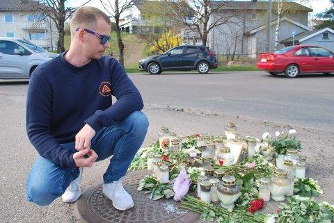 MINNESTED: Morten Myhre vil alltid huske Bård Lanes som en fyr han bare har gode minner om.