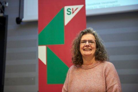 STERKEST SAMMEN; Fylkesleder i Trøndelag SV, Siv Furunes oppfordrer kommunene til å gå sammen i kampen om å få en batterifabrikk lokalisert til nordre deler av Trøndelag.