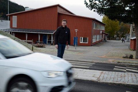 PÅ GOD VEG: Regionleder Frode Tiller Skjervø i Trygg trafikk Trøndelag mener vi er på god veg til å nå målene i 0-visjonen om null hardt skadde og drepte i trafikken.