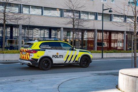 Politiet ble informert om fallulykken rundt klokka 11.