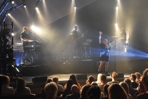 MAJESTETISK: Instrumenteringen, uttrykket, den bitvis massive lydveggen og ikke minst Ingrid Helene Håviks magiske stemme, gjorde konserten i Dampsaga til noe helt spesielt.