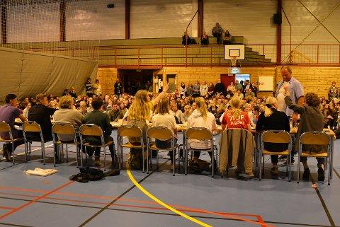 I går ble det gjennomført skolevalg på videregående skole i Tvedestrand.
