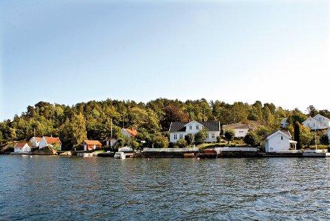 Skal bygge her: Oksefjorden Eiendom AS starter grunnarbeidene på Sia rett over nyttår.
