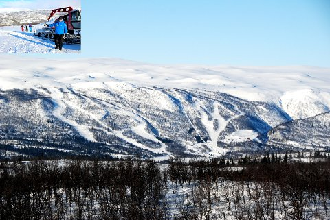 Raudalen: Raudalen Alpin ville forsøke seg på snørekøyring, eller catskiing, seks laurdagar framover. Arkivfoto: Tor Harald Skogheim/Bjørn B.Jacobsen