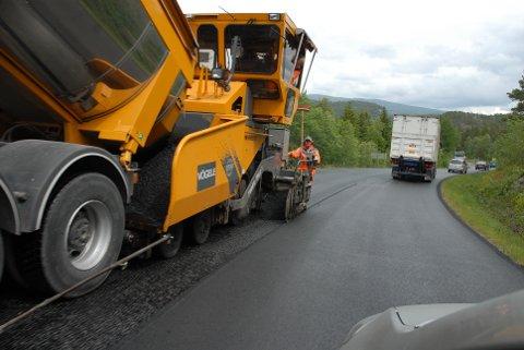Ny asfalt.