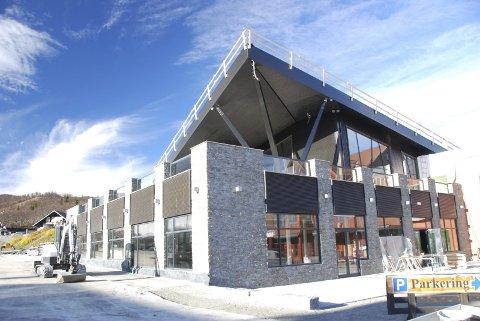 Velkomstsenteret: I bakkeplan blir det turistinformasjon, skiutleige og lokale for Beitostølen Aktiv, oppe blir det pub og restaurant.