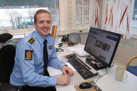 Ikke mye kriminalitet sett i forhold til det enorme besøket, slår lensmann Kristoffer Magnus Tessem fast.
