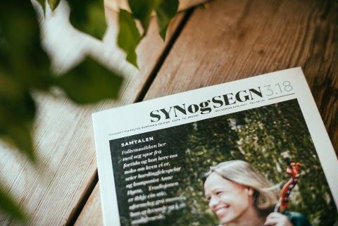 Nytt nummer: Syn og Segn, som blir redigert av Knut Aastad Bråten på Fagernes, er ute med eit nytt nummer.