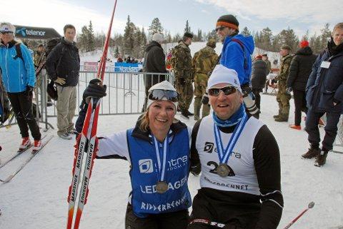 Prinsesse Märthe Louise og Kjetil Korbu Nilsen. Foto: Jan Arne Dammen