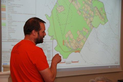 Steinar Tvedt , leder for Svennes Utmarkslag, frykter en verneprosess på Stølsvidda.