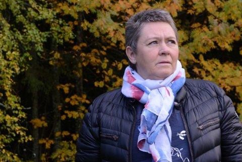 STEMME: Det er viktig å ha en stemme i sitt eget liv, sier Inger Lise Westbryhn (58).