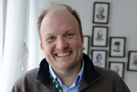 JOBBERMEDSAKA:Kommunikasjonssjef Kristian Westgård i Nittedal kommune.