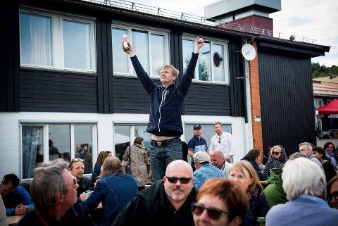 FORNØYD:Harald Berge er glad for at festivaler som Bygderock kan styre skjenketidene litt mer selv.(Arkivfoto)